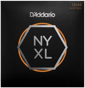 D'Addario NYXL1046 Nickel Wound Electric Strings – .010-.046 Regular Light