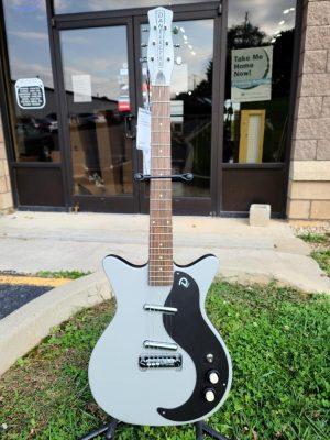 Danelectro '59M NOS+ Electric Guitar – Ice Gray