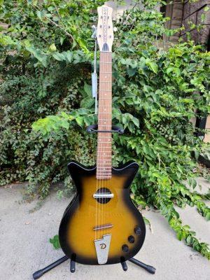 Danelectro Convertible Acoustic/Electric Guitar, Tobacco Sunburst