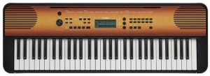 Yamaha PSR-E360 61-key Portable Arranger – Maple Wood Grain