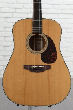 Takamine EF340S-TT Dreadnought Acoustic-Electric Guitar – Natural