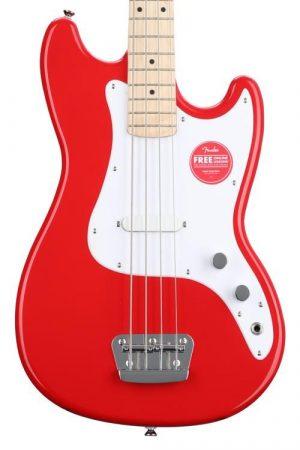 Squier Bronco Bass Guitar – Torino Red