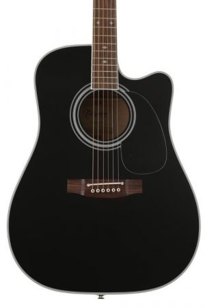 Takamine Legacy EF341SC Acoustic-Electric Guitar – Black