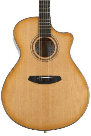 Breedlove Organic Artista Concerto CE Acoustic-Electric Guitar – Natural Shadow Torrefied European Spruce/ Myrtlewood